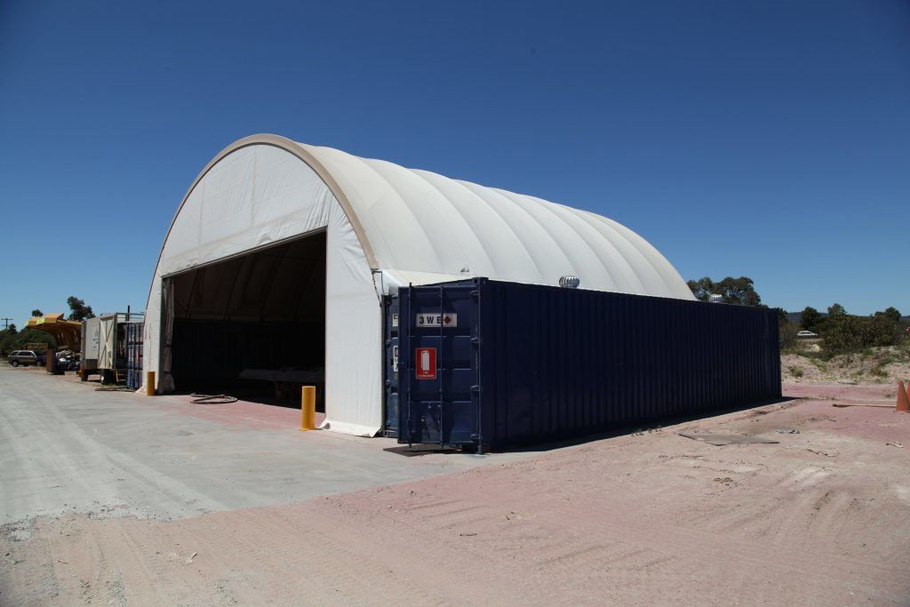 container shed - what is a container shed made of? - DomeShelter Australia