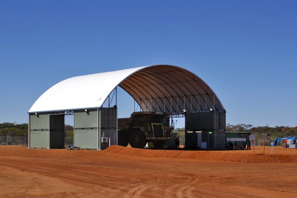 Container Shed - DomeShelter Australia
