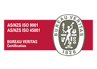 Bureau Veritas Certification logo.